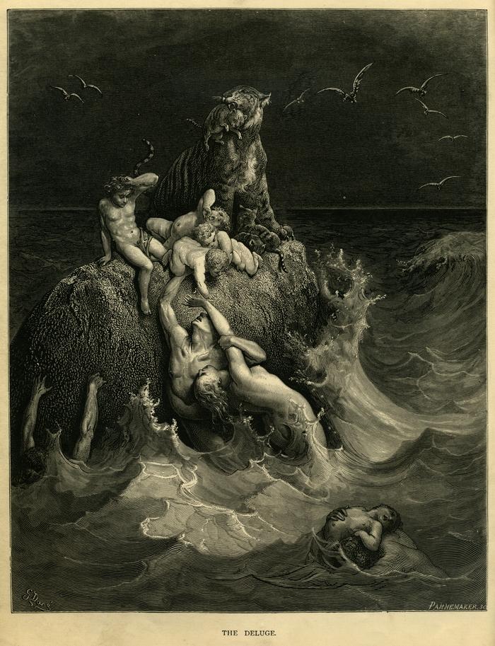 gilgamesh flood story, atrahasis epic, who wrote gilgamesh
