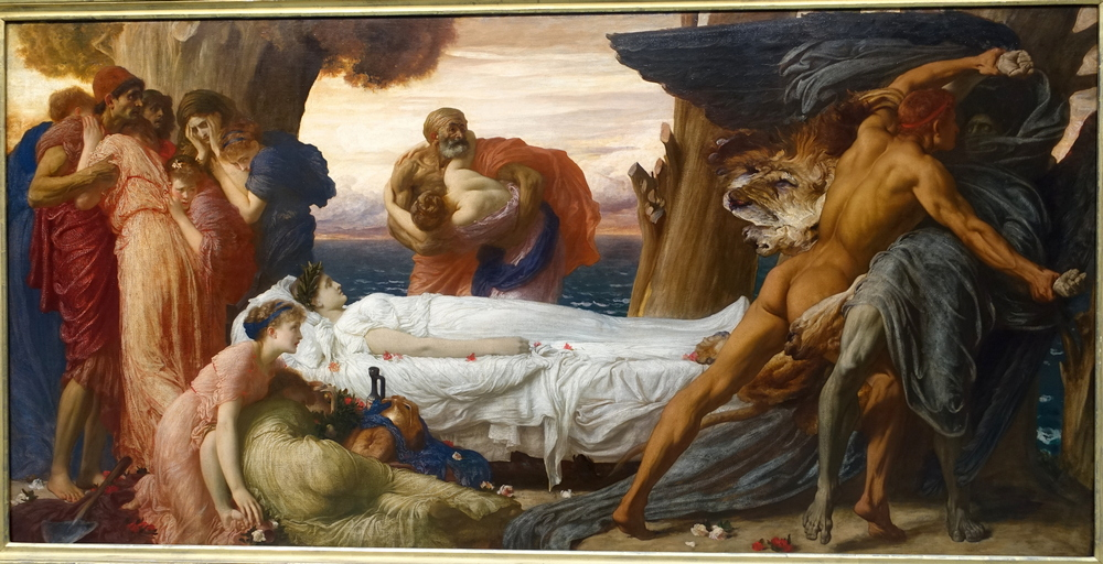 alcestis by euripides summary, alcestis and admetus, alcestis painting