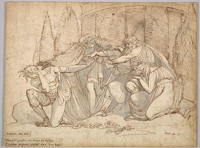 oedipus the king oedipus at colonus antigone, oedipus at colonus painting, oedipus rex oedipus at colonus antigone