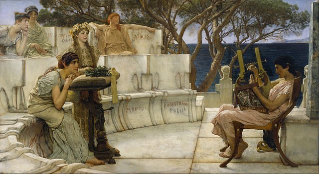 sappho quotes, sappho definition, sappho fragments