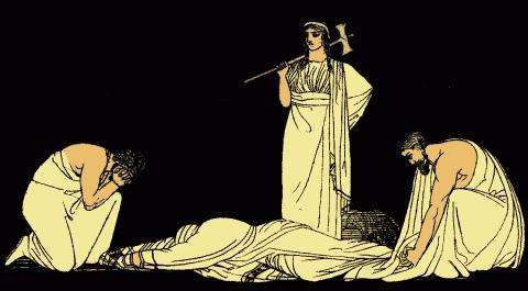 who wrote oresteia, the oresteia agamemnon, aeschylus oresteia summary