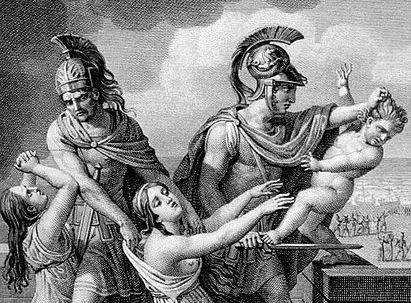seneca trojan women, seneca troades, seneca troades summary