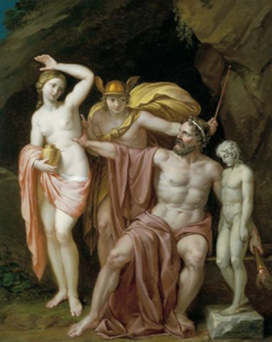 prometheus bound painting, prometheus bound analysis, prometheus bound play